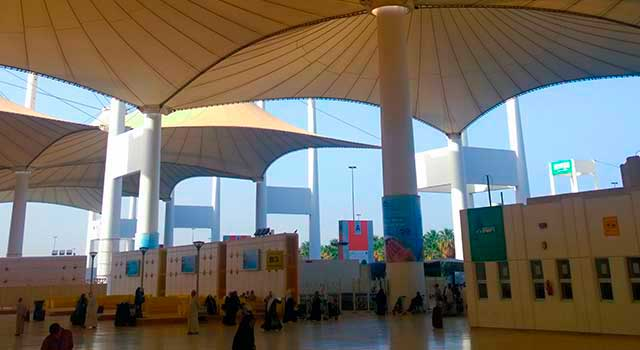 There are three terminals in Jeddah KAIA Airport: North, South and Hajj.